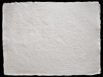 Texturerat handgjort papper Royaltyfria Foton
