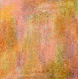 Texturerat korn abstrakt målad akrylbakgrund Fotografering för Bildbyråer