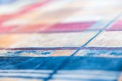 texturerat mångfärgat för bakgrund Abstrakt modell på tyg eller papper Arkivfoto