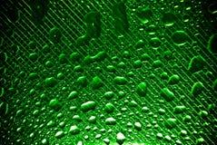 texturerat vatten för liten droppe exponeringsglas Royaltyfria Bilder