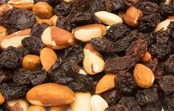 Textures � Trail Mix Stock Image