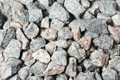 Textures écrasées de pierres Photographie stock