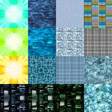 Textures 1 alta tecnologia Foto de Stock Royalty Free