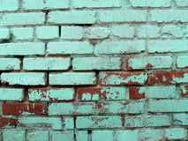 Textures 4. Aging brick wall Stock Photography