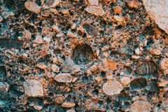 Textures and abstract forms of stone stock photos