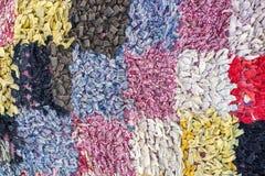 Textures abstraites de tissu avec des places Photo libre de droits