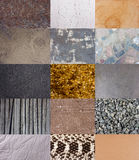 Textures background set Royalty Free Stock Image