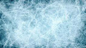 Textures blue ice. Ice rink. Winter background. Overhead view. illustration natur stock illustration
