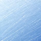 Textures blue ice. Ice rink. Winter background. Overhead view. Vector illustration nature background. Stock Image