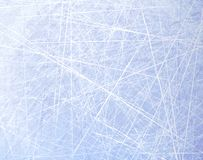 Textures blue ice. Ice rink. Winter background. Overhead view. Vector illustration nature background. Royalty Free Stock Photo