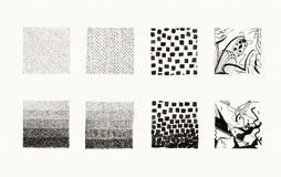 Textures Collection (Ink) Stock Image