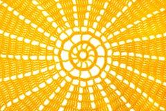 Textures colorées faites du crochet avec le fil, fait main Photo stock