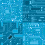 Textures computer board Royalty Free Stock Photos