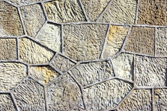 Textures on a concrete wall with geometrical shapes Royalty Free Stock Image