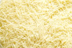 Textures for cooking noodle Royalty Free Stock Photo