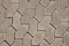 Textures détaillées des routes Images stock