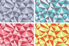 Textures d'abstarct de fond avec des triangles Image stock