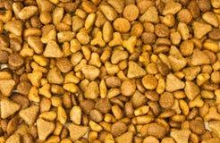 Textures d'aliments pour chats Photo libre de droits