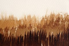 Textures d'aquarelle de Brown image libre de droits