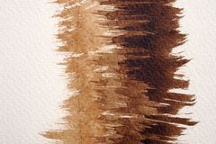 Textures d'aquarelle de Brown photo stock
