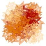 Textures dans des lames rouges d'or illustration de vecteur