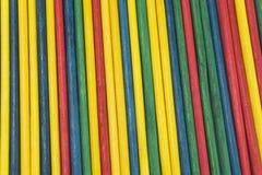 Textures de bâton de couleur Images stock