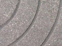 Textures de brique de trottoir Photographie stock libre de droits