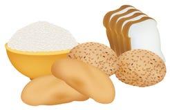 textures de céréales Photo libre de droits