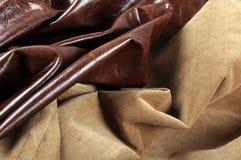 Textures de cuir Photo libre de droits