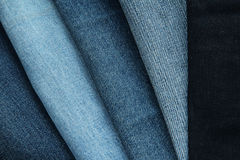Textures de denim Photos stock