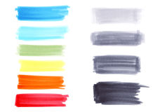 Textures de marqueur Images stock