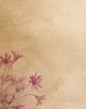 Textures de papier de fleur. Image stock