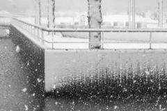 Textures de perspective et de neige images libres de droits