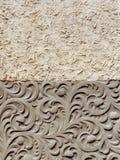 Textures de plâtre, Roumanie Photos stock