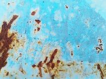 Textures de rouille corrodées pour oxyder le fond extérieur coloré de modèle de plat de feuillard images libres de droits