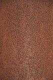 Textures de rouille de fond Couleur orange-foncé homogène, avec les points gonflés images libres de droits