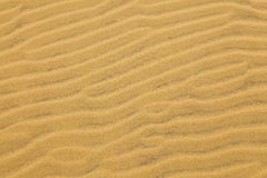 Textures de sable Photographie stock