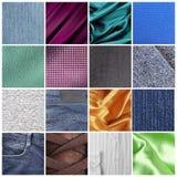 Textures de tissu Photo stock