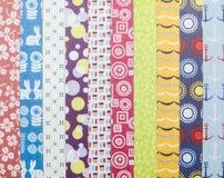 Textures de tissu Image stock