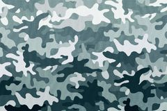 Textures de tissu de camouflage, textures Photos libres de droits