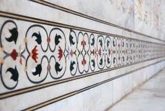 textures details of taj mahal Royalty Free Stock Photography