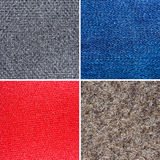 Textures of different fabric Royalty Free Stock Photography