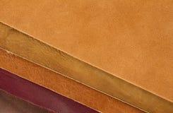 Textures en cuir Image libre de droits
