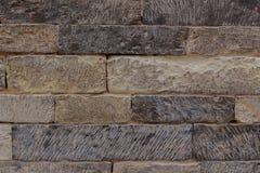 Textures en pierre découpées Photos stock