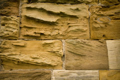 Textures en pierre d'abbaye de Whitby Photo libre de droits