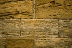 Textures en pierre d'abbaye de Whitby Photos stock