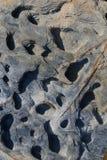 Textures et formes dans les roches Photographie stock libre de droits
