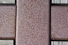 Textures et milieux abstraits : Métal de corrosion Photo libre de droits
