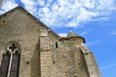 Textures of France: Fours-en-Vexin royalty free stock photo