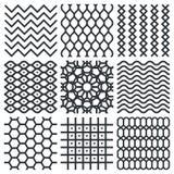 Textures géométriques de vecteur Illustration Libre de Droits